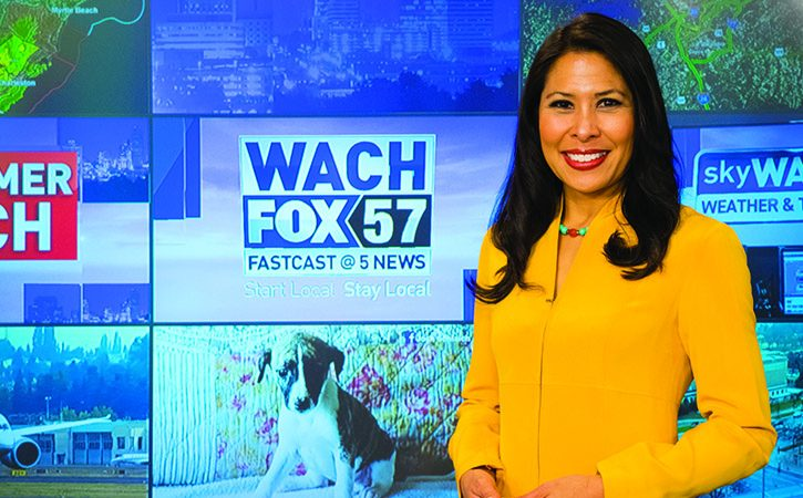 WACH FOX anchor Myra Ruiz